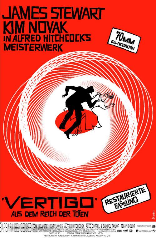 Vertigo - German Movie Poster