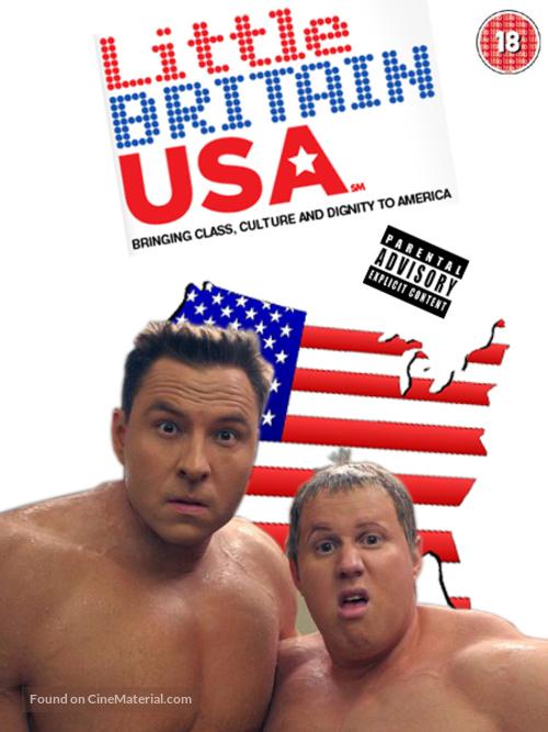 """Little Britain USA"" - Movie Cover"