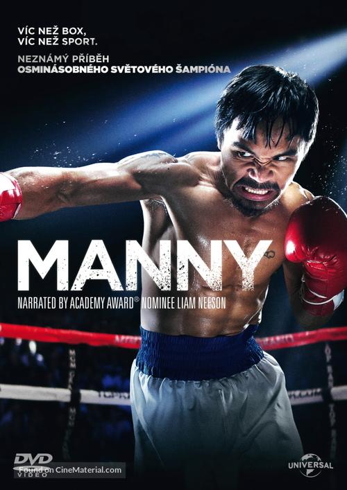 Manny - Czech DVD movie cover