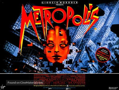 Metropolis - British Re-release movie poster