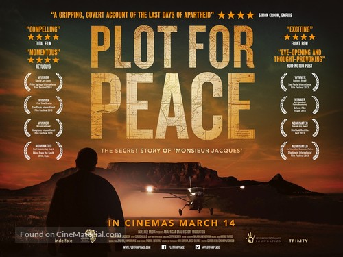 Plot for Peace - British Movie Poster