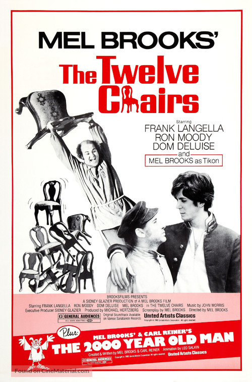 The Twelve Chairs   Movie Poster