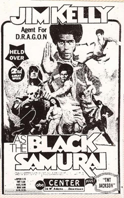 Black Samurai - poster