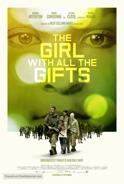 The Girl with All the Gifts - British Movie Poster