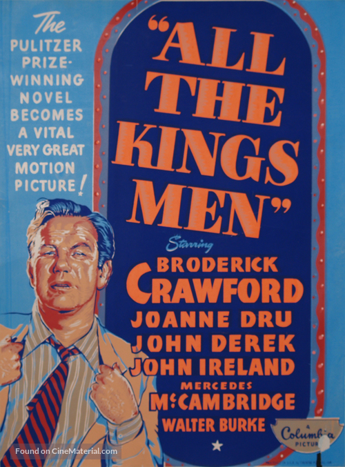 All the King's Men - Movie Poster