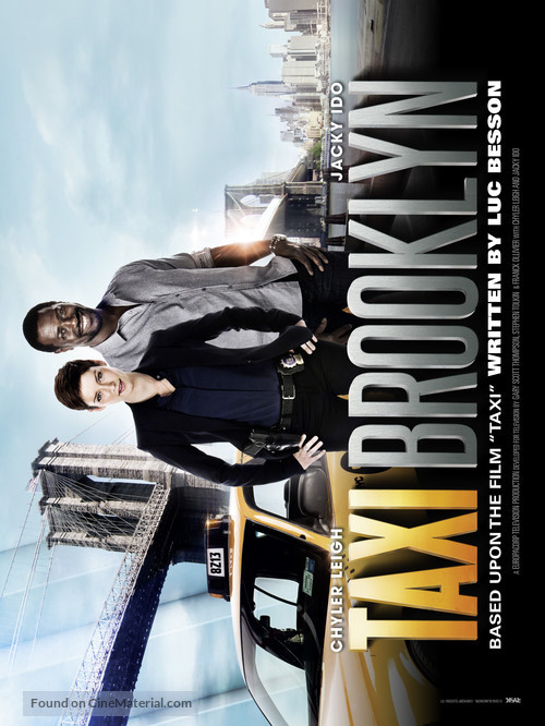 """Taxi Brooklyn"" - Movie Poster"
