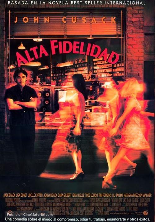 High Fidelity - Spanish Movie Poster