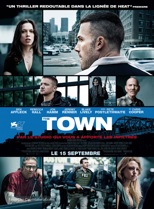 The Town - French Movie Poster