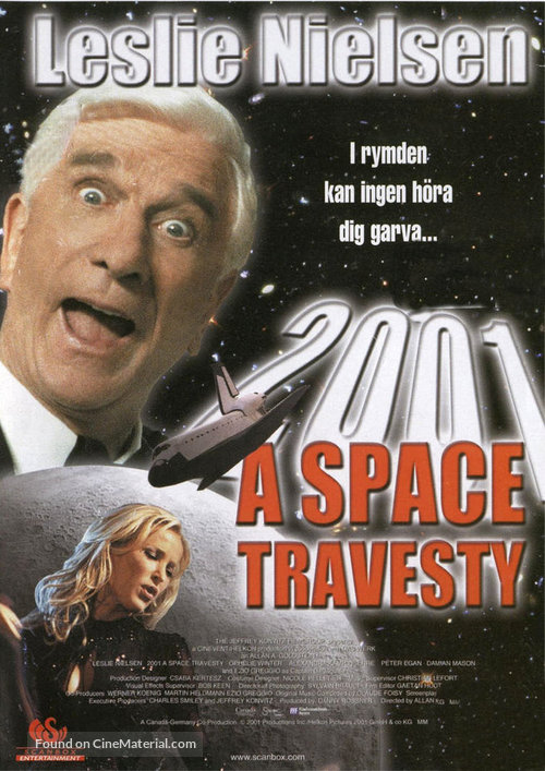 2001: A Space Travesty - Swedish Movie Cover