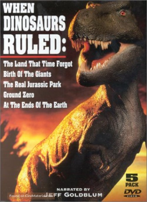 """""""When Dinosaurs Ruled"""" - Movie Cover"""