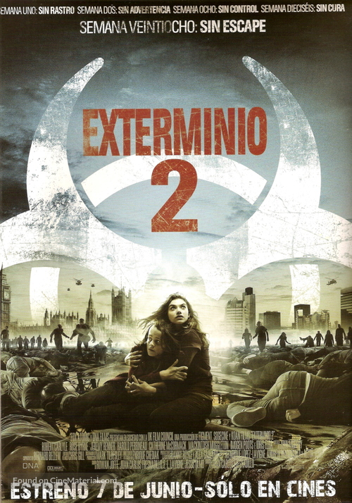 28 Weeks Later - Argentinian Advance movie poster