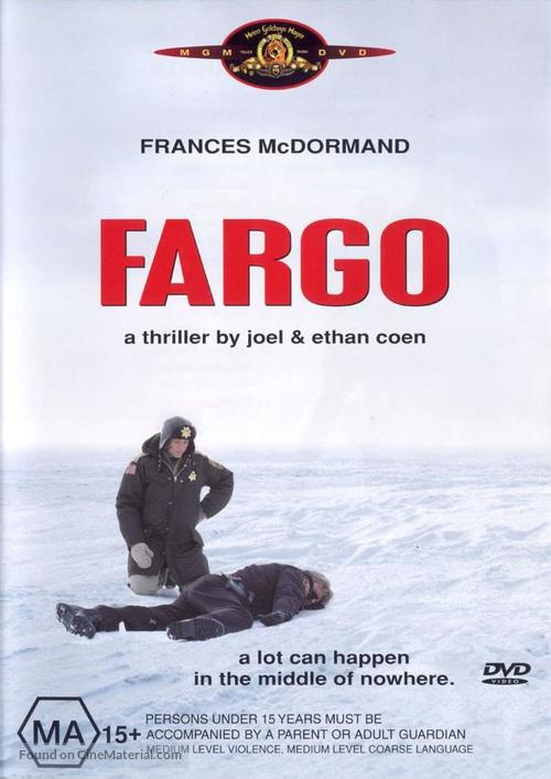 Fargo - Australian DVD movie cover