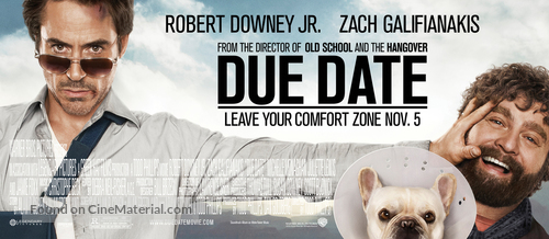 Due Date 2010 Movie Poster