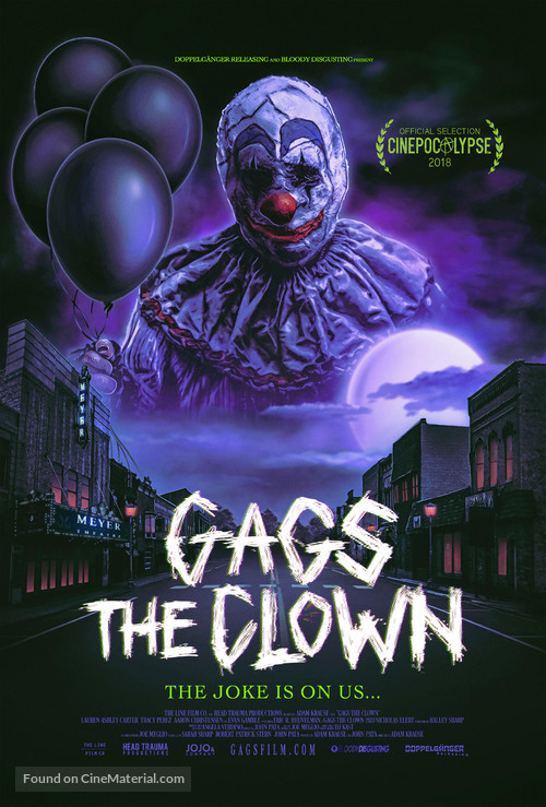 Gags The Clown - Movie Poster