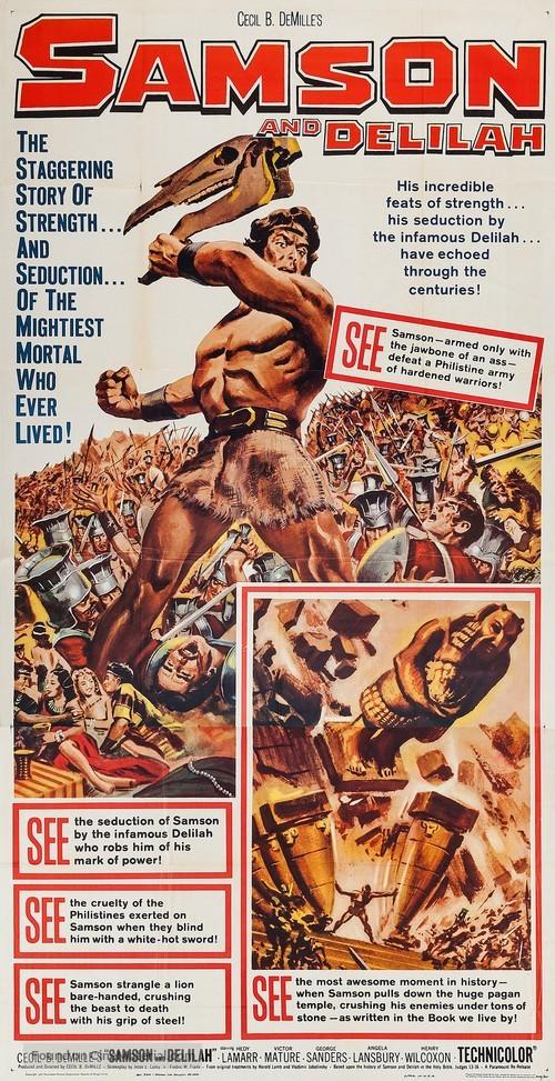 Samson and Delilah - Movie Poster