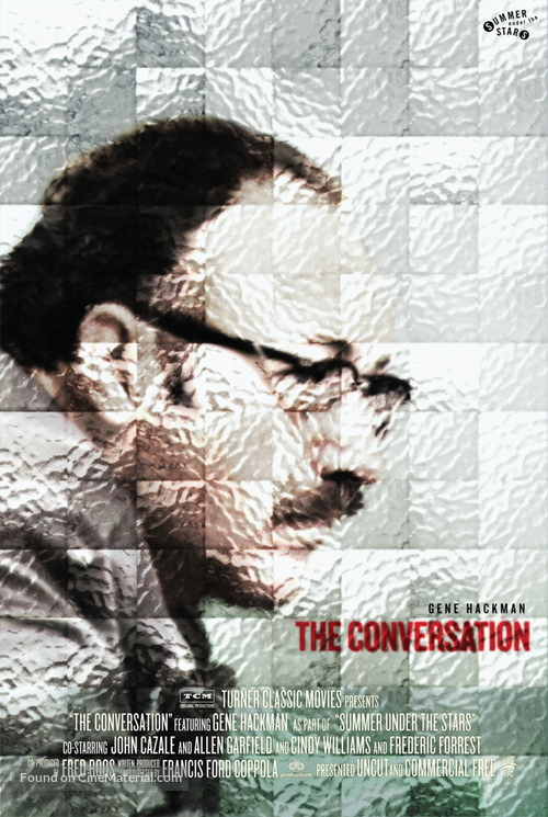 The Conversation - Re-release movie poster