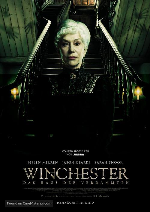 Winchester - German Movie Poster