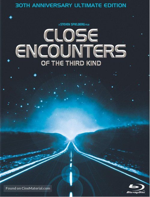 Close Encounters of the Third Kind - Blu-Ray movie cover