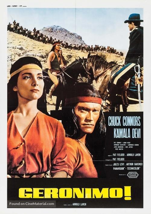 Geronimo - Italian Movie Poster