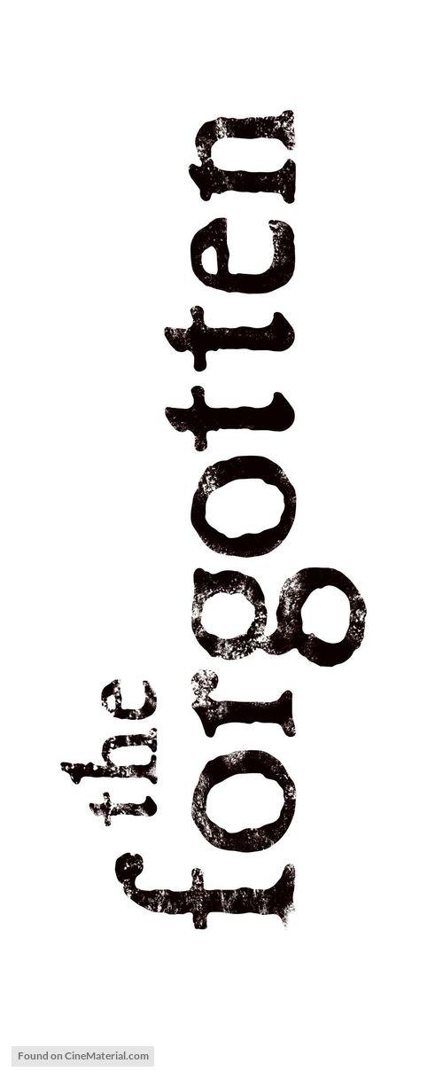 """The Forgotten"" - Logo"
