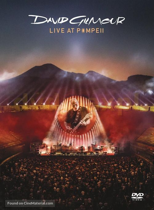 David Gilmour Live at Pompeii - British DVD cover