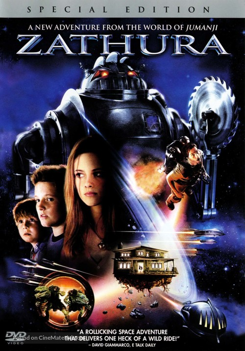 Zathura: A Space Adventure - Movie Cover