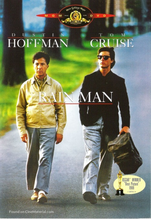 Rain Man - French DVD movie cover