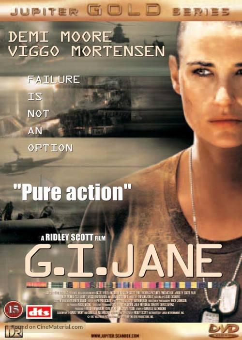 G.I. Jane - Danish DVD movie cover