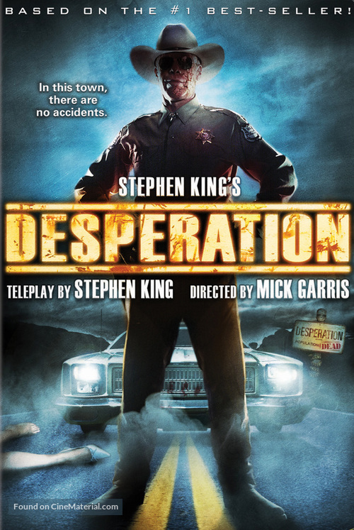 """Desperation"" - DVD movie cover"