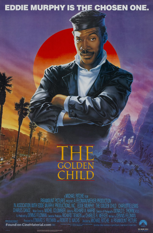 The Golden Child - Theatrical movie poster