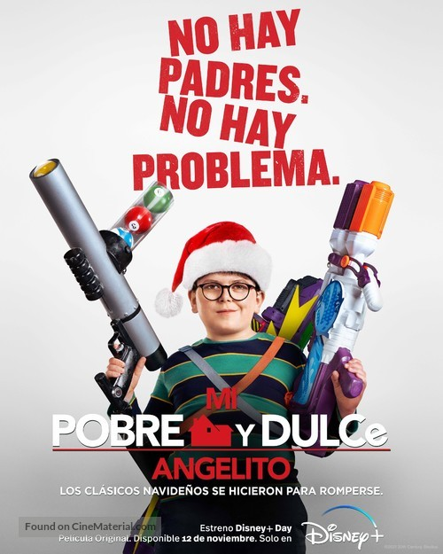 Home Sweet Home Alone - Mexican Movie Poster