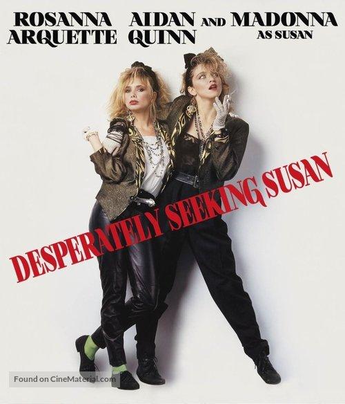 Desperately Seeking Susan - Blu-Ray movie cover