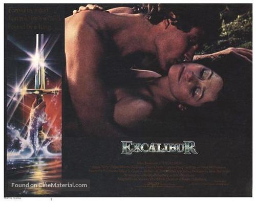 Excalibur - British Movie Poster