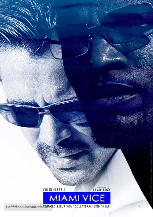 Miami Vice - German Movie Poster