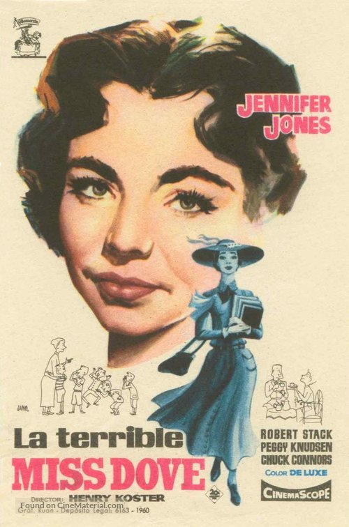 Good Morning, Miss Dove - Spanish Movie Poster