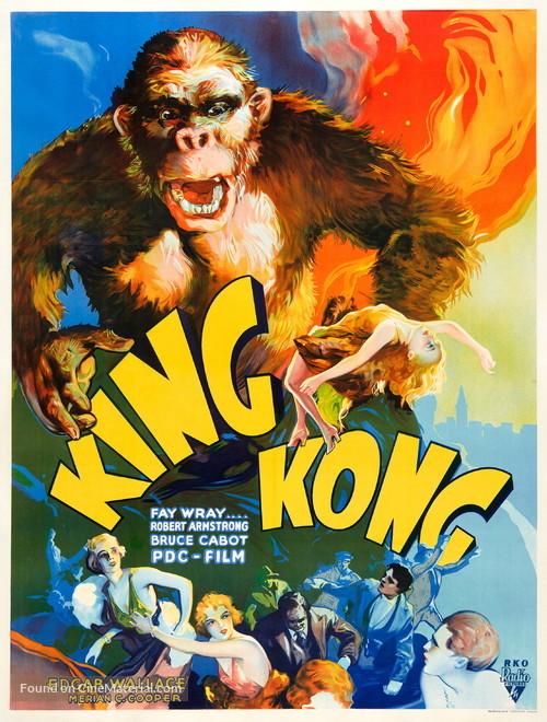 King Kong - Czech Movie Poster