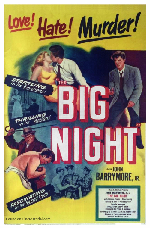 The Big Night - Movie Poster