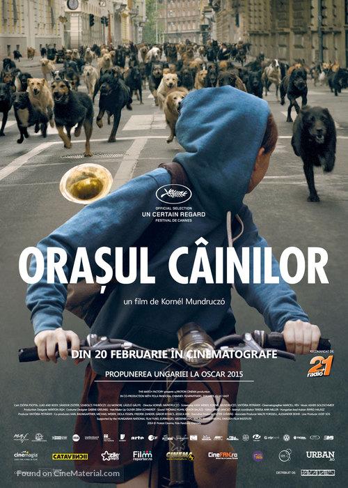 Fehér isten - Romanian Movie Poster