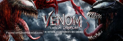Venom: Let There Be Carnage - Brazilian poster
