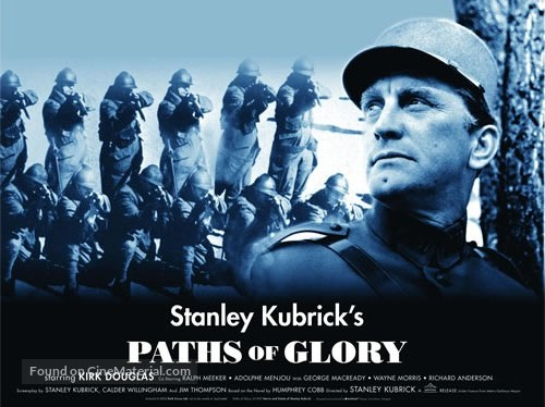 a review of the movie paths of glory Movie: paths of glory (1957) - during world war i, commanding officer general broulard (adolphe menjou) orders his subordinate, general mireau (george macrea.