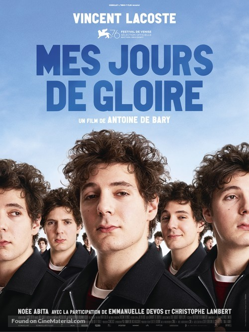 Mes jours de gloire - French Movie Poster