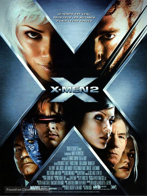 X2 - French Movie Poster