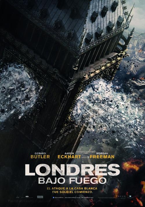London Has Fallen - Argentinian Movie Poster