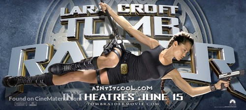 Lara Croft Tomb Raider 2001 Teaser Movie Poster