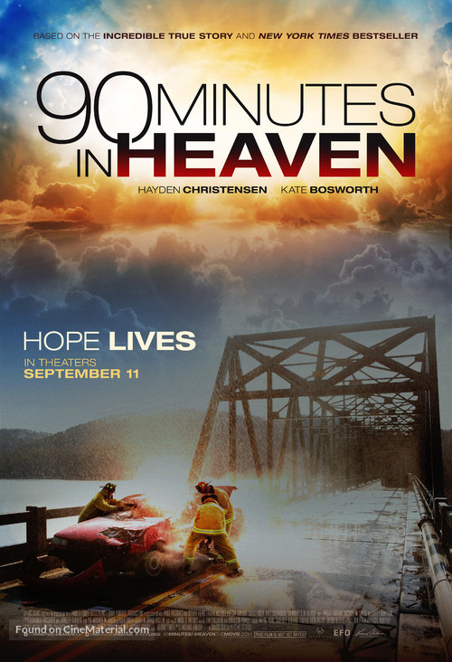 90 Minutes in Heaven - Movie Poster