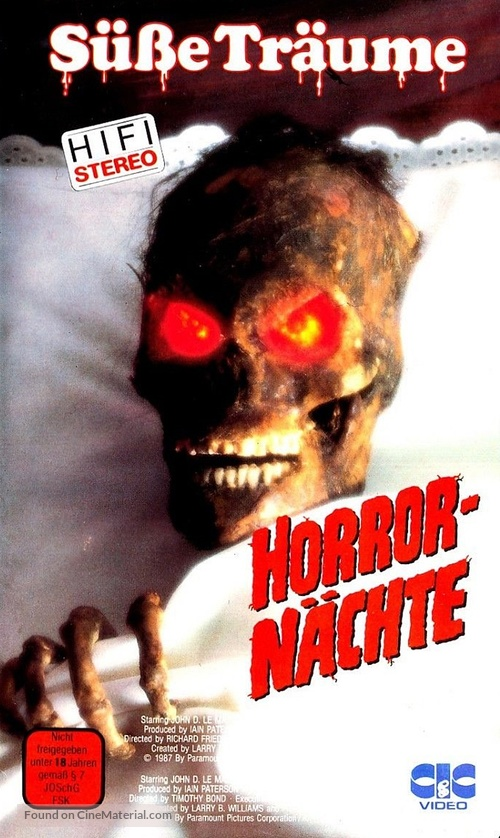 """""""Friday the 13th"""" - German VHS movie cover"""