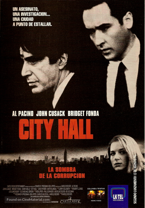 City Hall - Argentinian Movie Poster