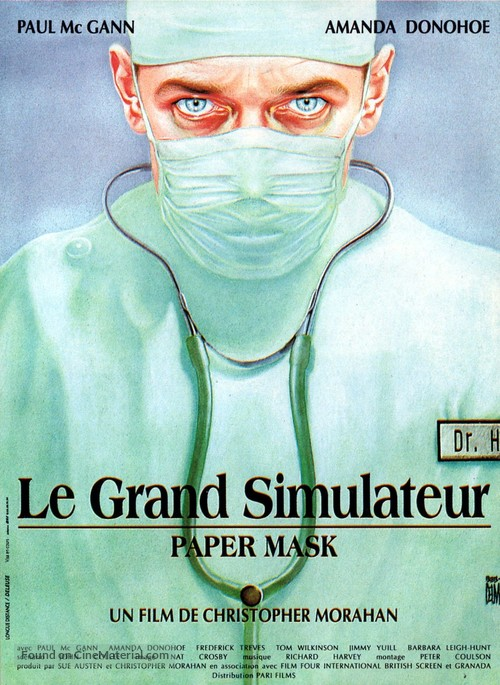Paper Mask - French Movie Poster