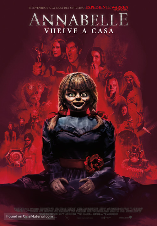 Annabelle Comes Home - Spanish Movie Poster