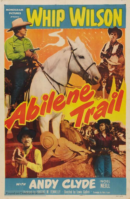 Abilene Trail - Movie Poster